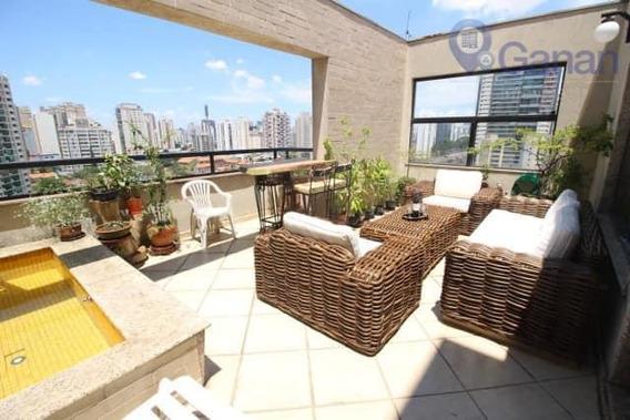 Cobertura Com 3 Dormitórios À Venda, 135 M² Por R$ 1.150.000 - Campo Belo - São Paulo/sp - Co0227