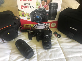 Camara Fotografica Canon T5 Reflex
