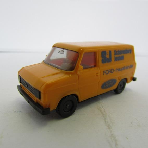 Escala 1/87 Herpa Furgão Ford Transit Scharenberg Jorgetrens