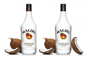 Ron Malibu X 2 Botellas Ron Rhum Importado Envi. Gratis Caba