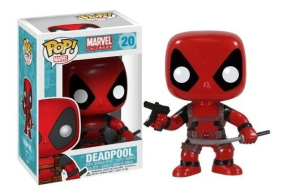 Muñecos Funko Pop Coleccionable Marvel Deadpool, Oferta!