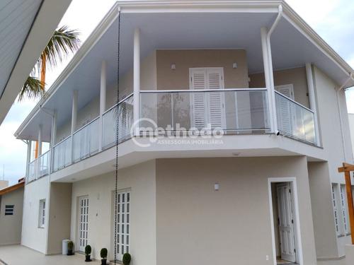 Casa Venda Condomínio Jardim Botânico Sousas Campinas Sp - Ca00656 - 68212634