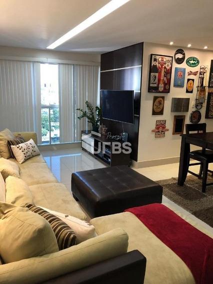 Apartamento Com 3 Dormitórios À Venda, 85 M² Por R$ 470.000 - Jardim Goiás - Goiânia/go - Ap2856