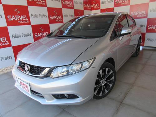 Imagem 1 de 11 de Honda Civic 2.0 Lxr 16v Flex 4p Automático