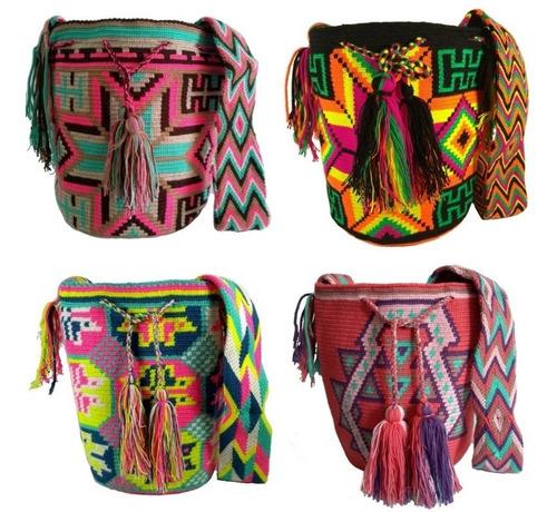 Mochilas Wayuu Originales Grandes Envió Gratis Hechas A Mano