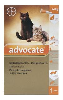 Antiparasitario Advocate Gato & Hurón