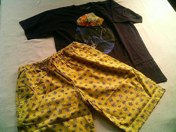 Camiseta Rocawear /bermudão Hip-hop.l