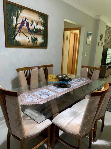 Imagem 1 de 30 de Apartamento Com 2 Dormitórios À Venda, 86 M² Por R$ 450.000,00 - Aviação - Praia Grande/sp - Ap15618