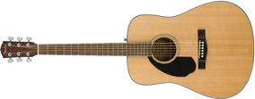 Guitarra Clasica Fender Cd-60s Zurda Natural - Soundgroup