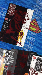 Marvel Comics Daredevil Man Without Fear Completo