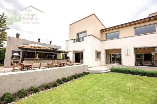 Casa En Venta En Condominio De 6 Recamaras En Residencial La Loma, Santa Fe, Cdmx