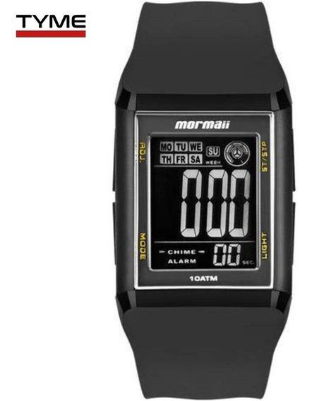 Relógio Mormaii Unissex Wave Digital Mo1800/8y Quadrado Nfe