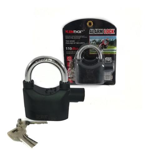 Candado Alarma De Seguridad Para Motos, Bicicletas Etc.