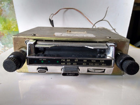 Rádio Mitsubishi Rx 77 Funcionando Am E Fm / Cassete Reparo