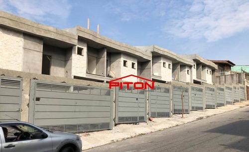 Sobrado Com 3 Dormitórios À Venda, 102 M² Por R$ 420.000,00 - Jardim Nossa Senhora Do Carmo - São Paulo/sp - So2657