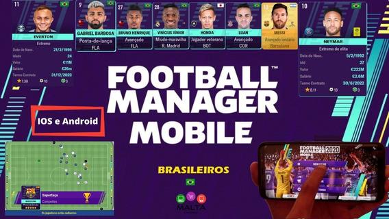 Football Manager Mobile 20 Original + Editor