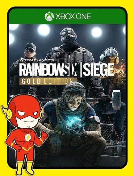 Tom Clancys Rainbow Six Siege Gold Xbox One - 25 Dígitos (envio Flash)