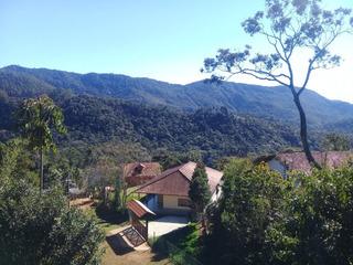 Casa Na Montanha, Nova Friburgo, Com Jardim E Pomar