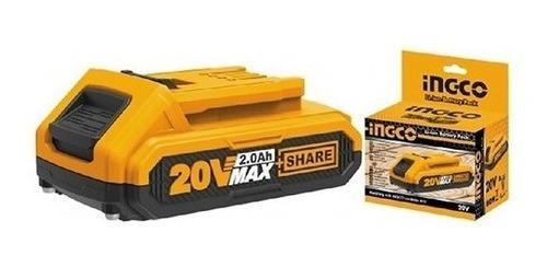 Batería De Litio P20s Ingco 20v/2ah Ingco Fbli2001