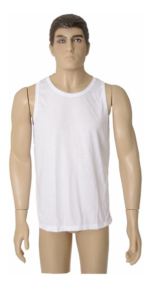 10 Camiseta Regata Masculina 100% Poliéster Sublimação