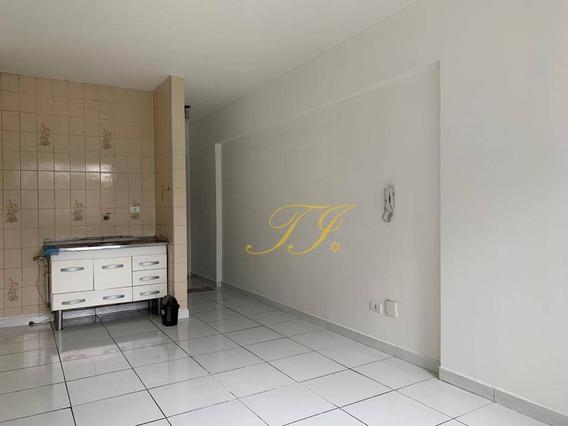 Kitnet Para Alugar, 40 M² Por R$ 550/mês - Centro - Guarulhos/sp - Kn0003
