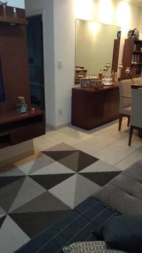 Imagem 1 de 23 de Rrcod3456 - Apartamento 68mts Condominio Residencial Menegatti - 02 Dorms - 01 Vaga - Oportunidade - Ótima Localização - Rr3456 - 69354457
