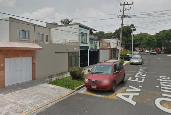 Casa En Remate Bancario En Colonia Educacion Coyoacan