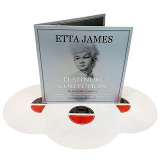 Etta James Lp Triplo Branco Platinum Collection Importado