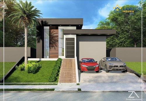 Imagem 1 de 10 de Casa Com 3 Dormitórios À Venda, 145 M² Por R$ 900.000,00 - Buona Vita Gold - Atibaia/sp - Ca2290