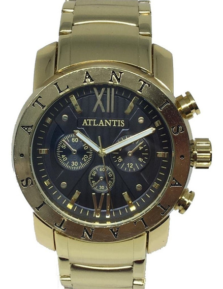 Relógio Masculino Atlantis Original A3310 BvLG+frete