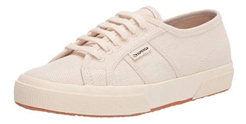 Sneaker 2750 Organiccottonhempu De Superga Para Mujer, Blanc
