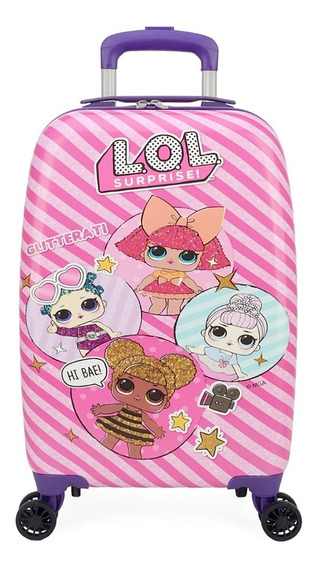 Mala Lol Malinha Escolar Boneca Lol - Luxcel - Frete Gratis