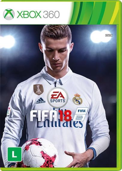 Fifa 18 Xbox 360 Midia Digital, Envio Imediato !!!