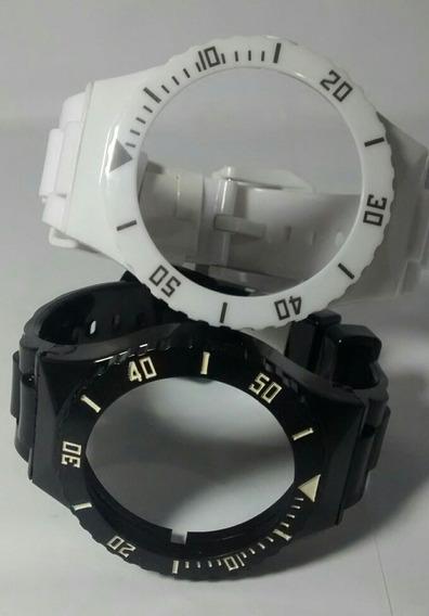 Pulseira P/ Relógio Troca Pulseiras Kit Com 4 Pulseiras
