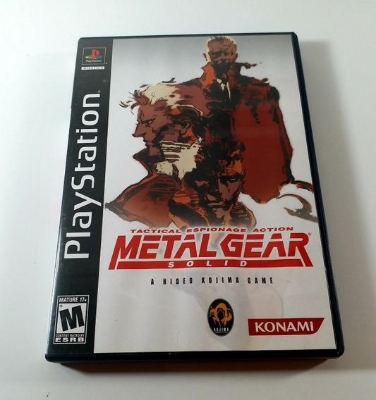 Metal Gear Solid 1 Ps1 /ps2