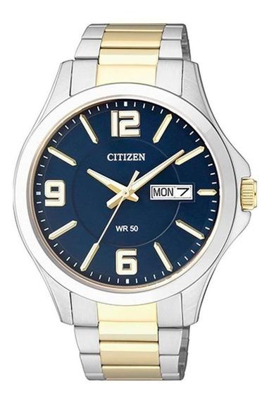 Relógio Citizen Masculino Tz20537a Bf2004 Misto Azul