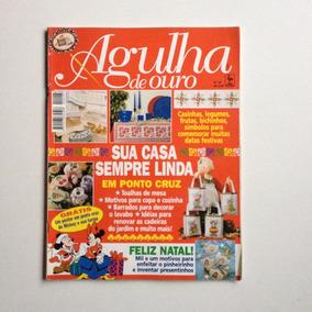 Revista Agulha De Ouro Ponto Cruz Toalhas De Mesa B364