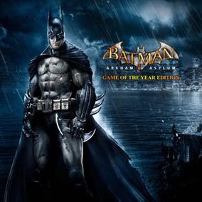 Batman Arkham Asylum Goty Steam Original Pc Online Key