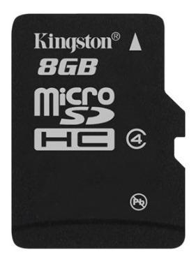 Kit Com 5 Micro Sd Card 8gb Classe 4 - Kingston