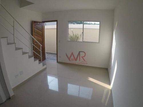 Sobrado Com 2 Dormitórios À Venda, 60 M² Por R$ 239.000,00 - Cidade Líder - São Paulo/sp - So0303