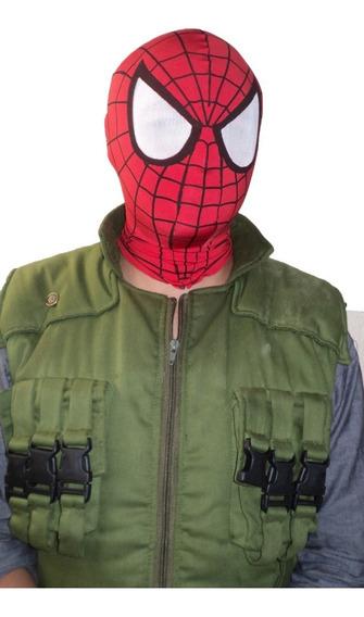 Mascara Spiderman . Mascara Hombre Araña.
