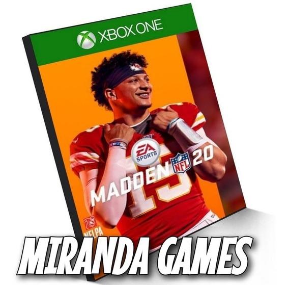 Madden Nfl 20 Xbox One Midia Digital 2020