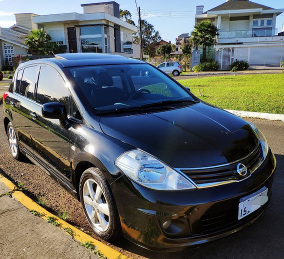 Nissan Tiida Sl 1.8 Top De Linha Automático Com Teto Solar