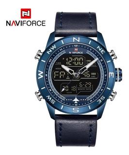 Reloj Hombre Naviforce Nf9144 Calidad Multifuncion Cuero