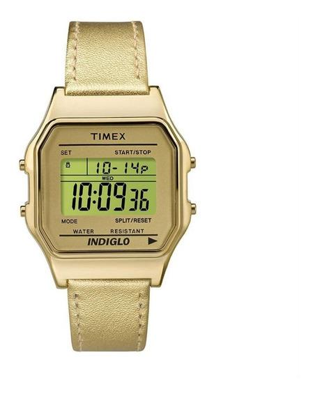 Relógio Timex Heritage Feminino Dourado Tw2p76900wwn