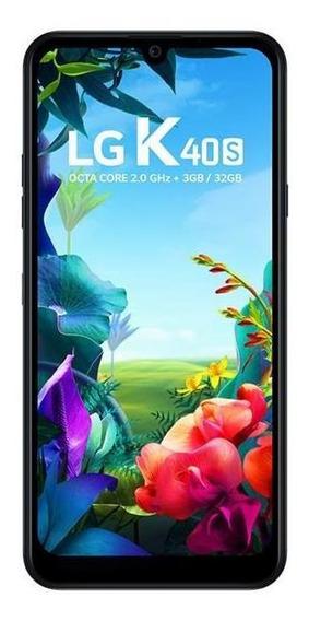 Smartphone Lg K40s Thinq - Câmera Dupla Com Selfie De 13mp,