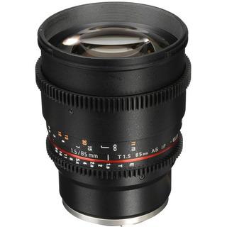 Rokinon 85mm Lente T1.5 Cine Para Sony Nex-e Cv85m Video