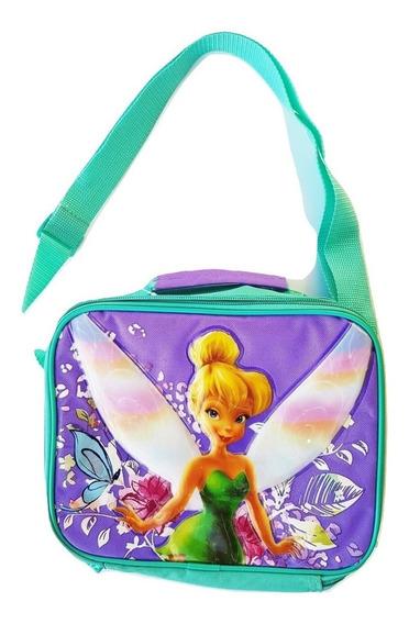 Lunchera Termica Disney Princess Tinkerbell Original Import