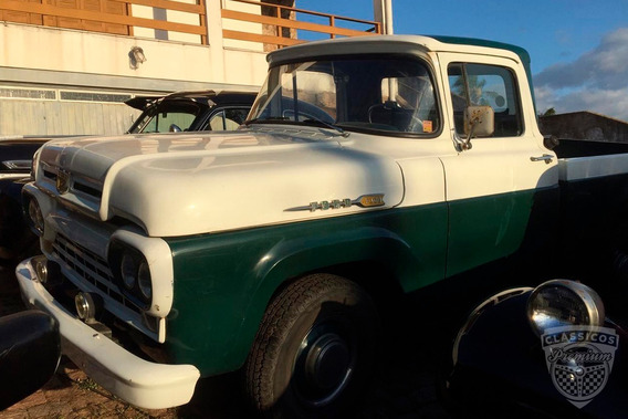 Ford F-100 1964 64 - Antiga - Original
