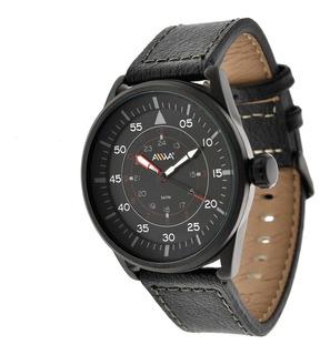 Reloj Hombre Aiwa Sumergible 50 Metros Black Panther Mbml497